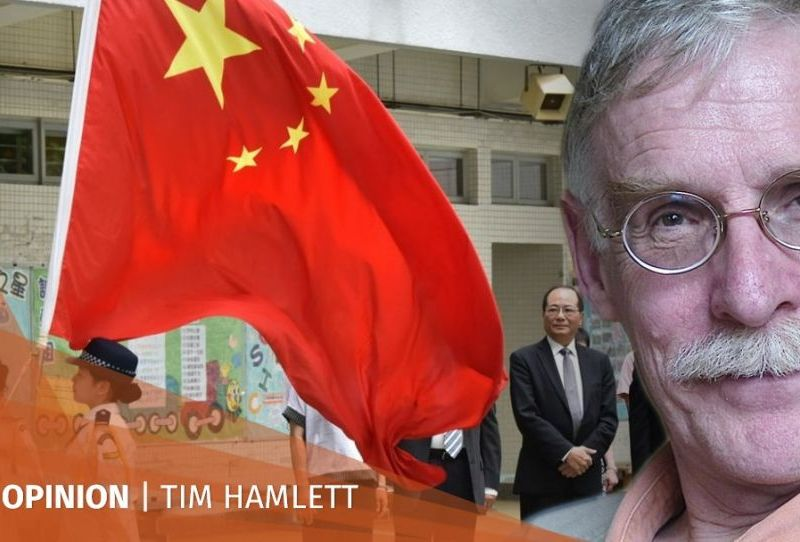 Tim Hamlett China flag Tony Chung