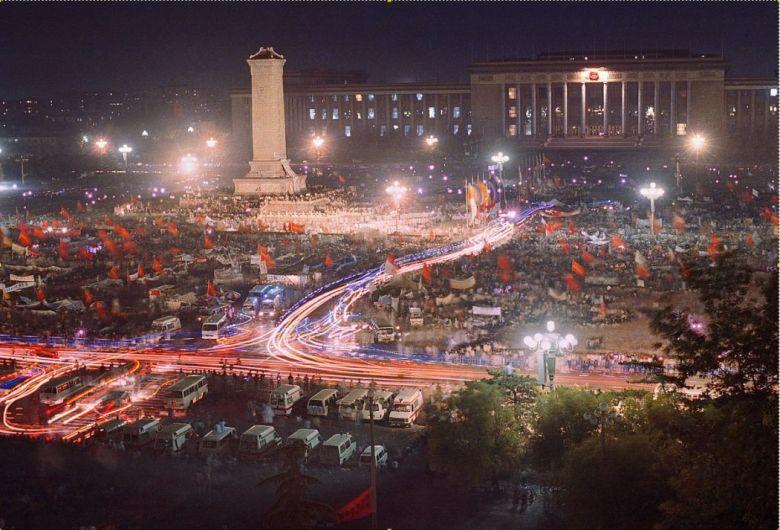 Tiananmen protests 1989