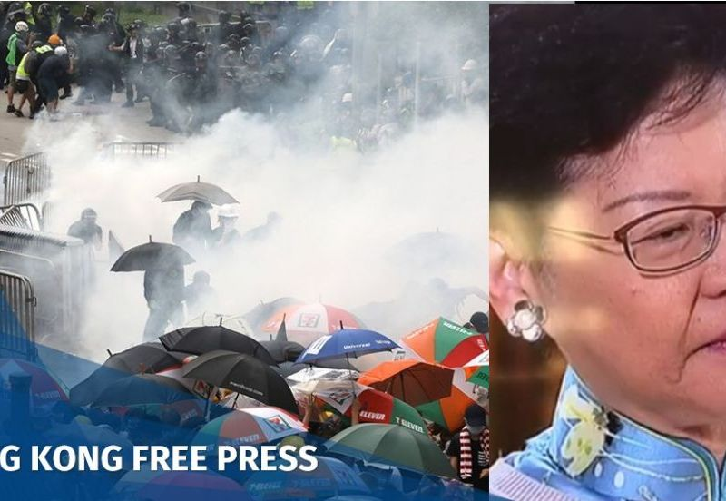 Carrie Lam protest extradition