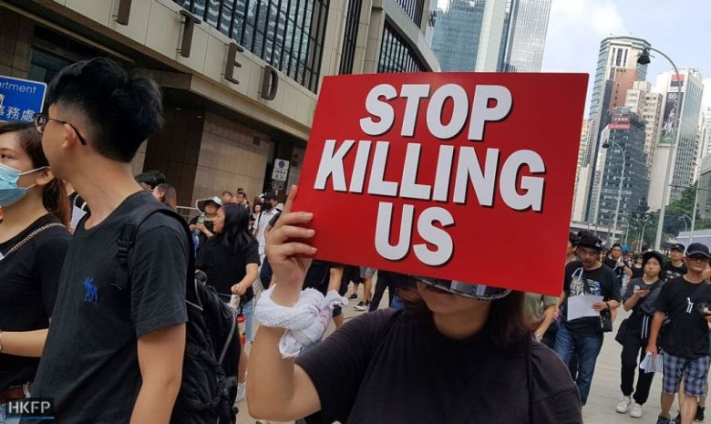china extradition June 16 Sunday protest (1) (Copy) killing us