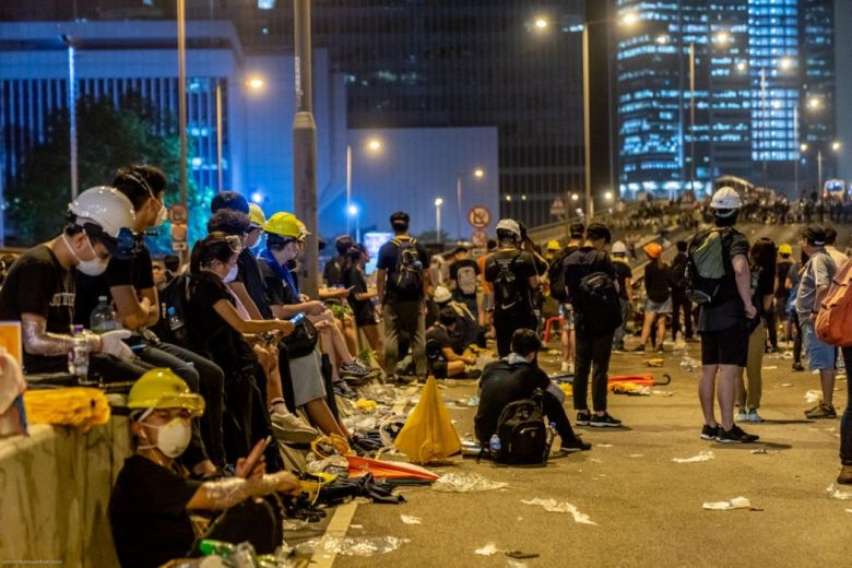 china extradition protests central (17)