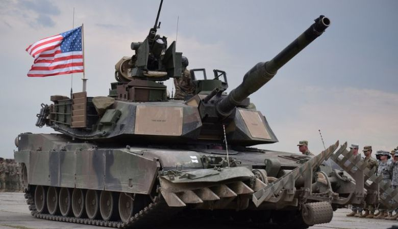 M1A2 Abrams main battle tanks