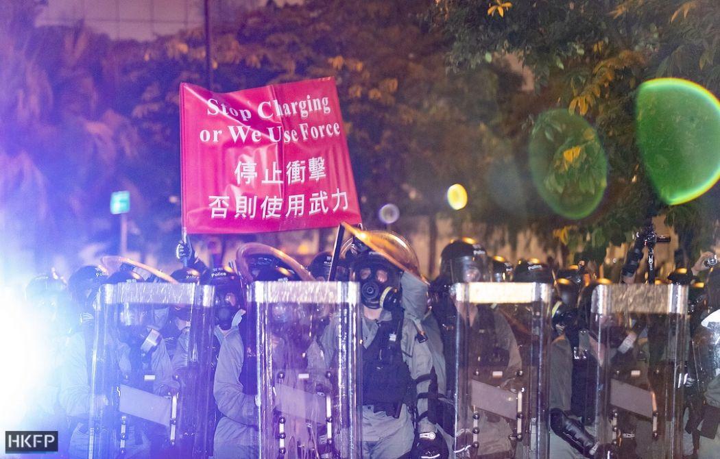 police 14 july sha tin china extradition
