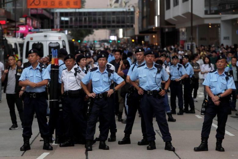 hong kong police reputation