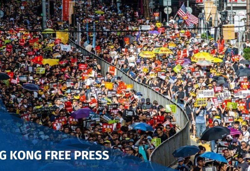 July 1 2019 Monday democracy march