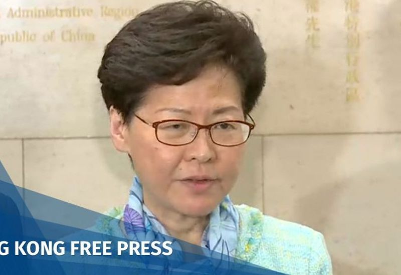 Carrie Lam press conference