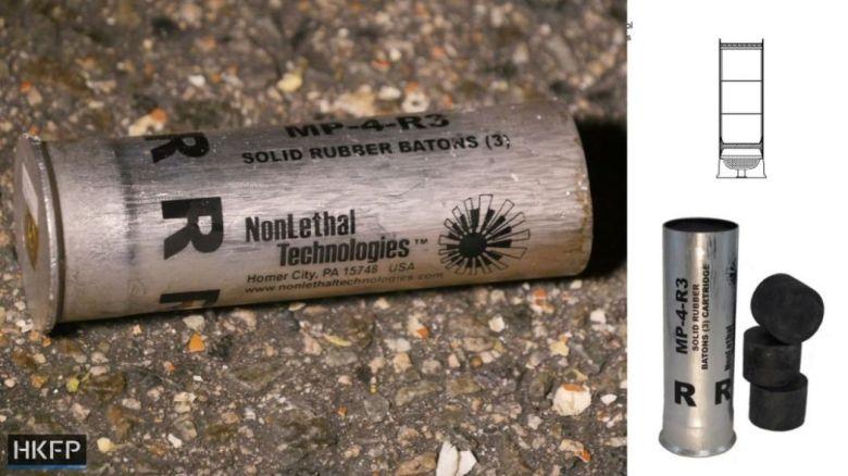 rubber bullets yuen long