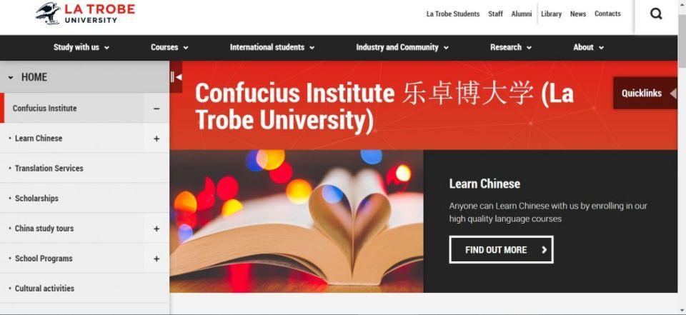 Confucius Institute La Trobe University