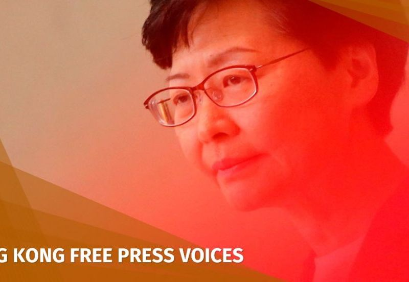 Chief Executive Carrie Lam extradition