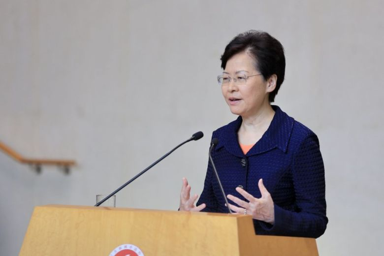 Carrie Lam August 20