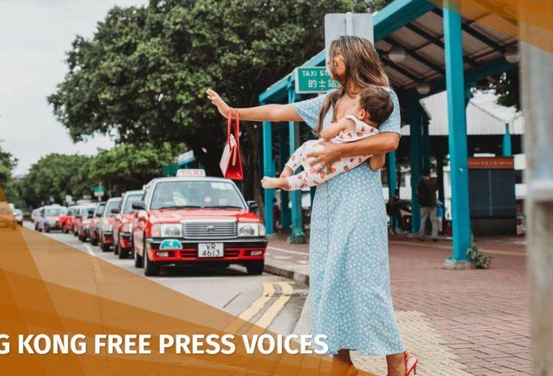 Liz Thomas breastfeeding Hong Kong