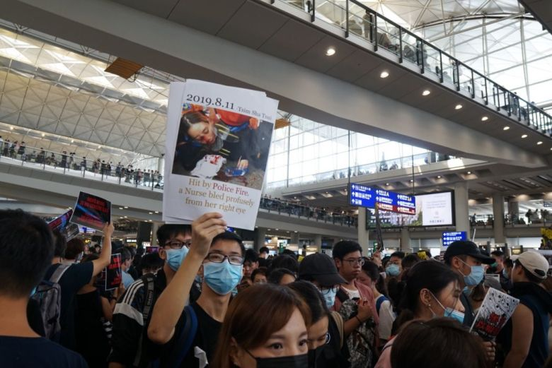 august 12 china extradition airport protest