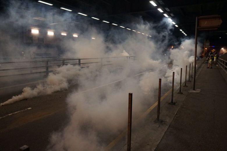 August 5 protest tuen mun tear gas