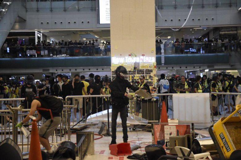 Sep 22 Sha Tin protest
