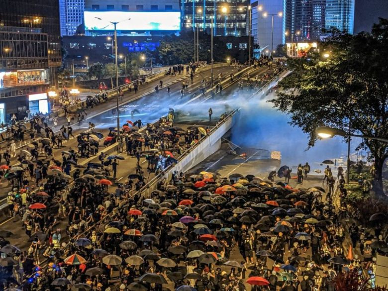 september 28 admiralty china extradition water cannon