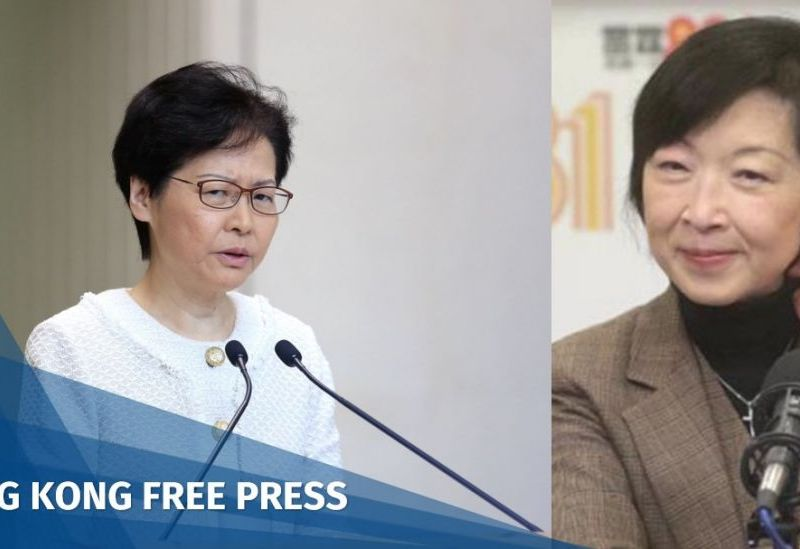 Fanny Law Carrie Lam