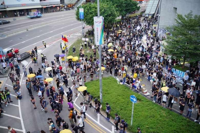 September 28 protest we are back admiralty lennon wall