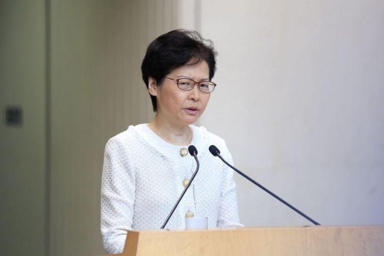 September 10 Carrie Lam