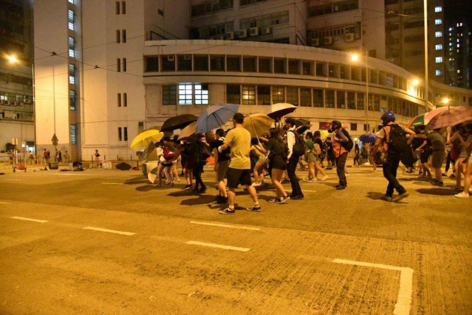 tai koo protest china extradition october 3