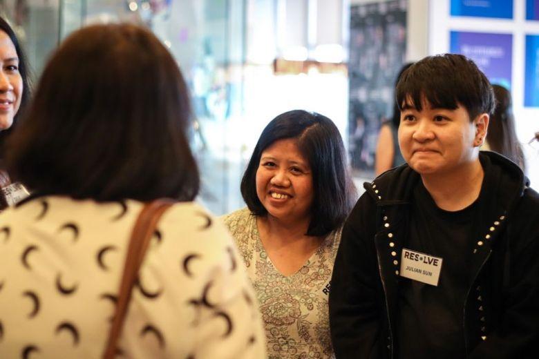 Leeh Ann Hidalgo Julian Sun Resolve Foundation fellows