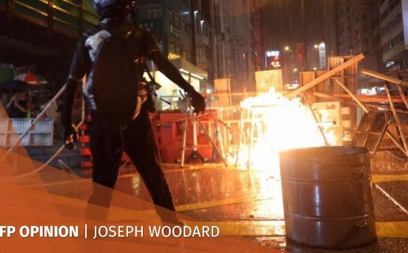 hong kong protests joseph woodard