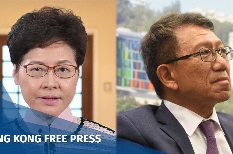 Carrie Lam Rocky Tuan