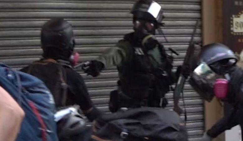 police tsuen wan gun china extradition live round