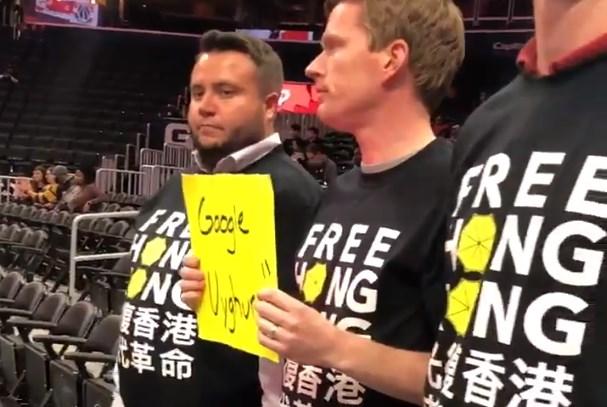 hong kong protest nba