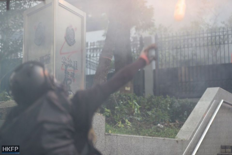 tear gas october 20 kowloon