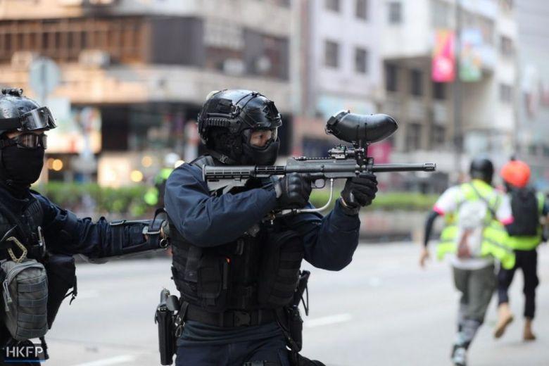 pepper spray gun october 20