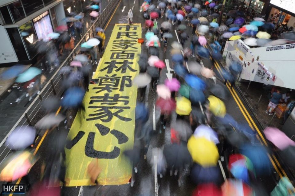 Hong Kong Island. Photo: May James / HKFP.