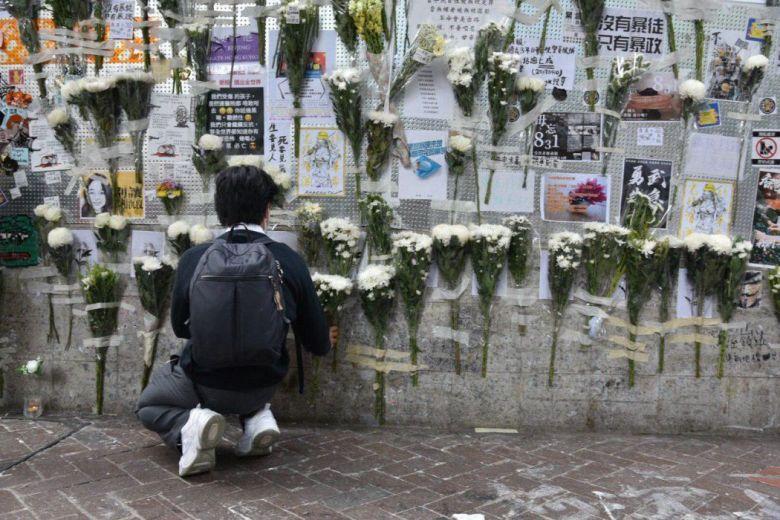 """""""October 31"""" Prince Edward MTR shrine protest"""