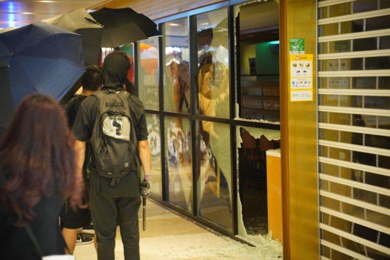 Maxim's Sheung Shui damaged