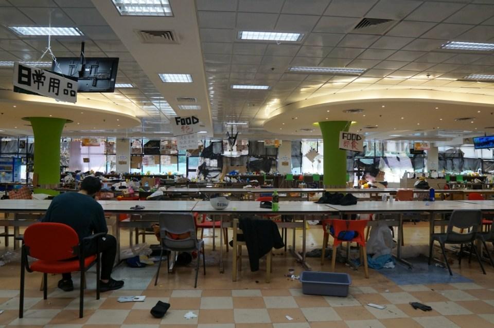 PolyU canteen
