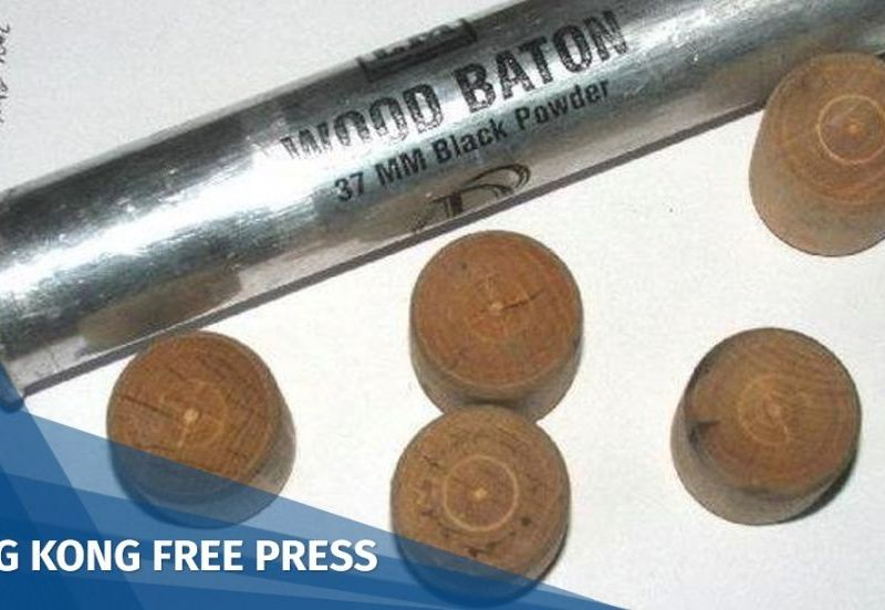 Wood baton rounds