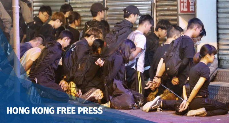 Yau Ma Tei protest Nov 18