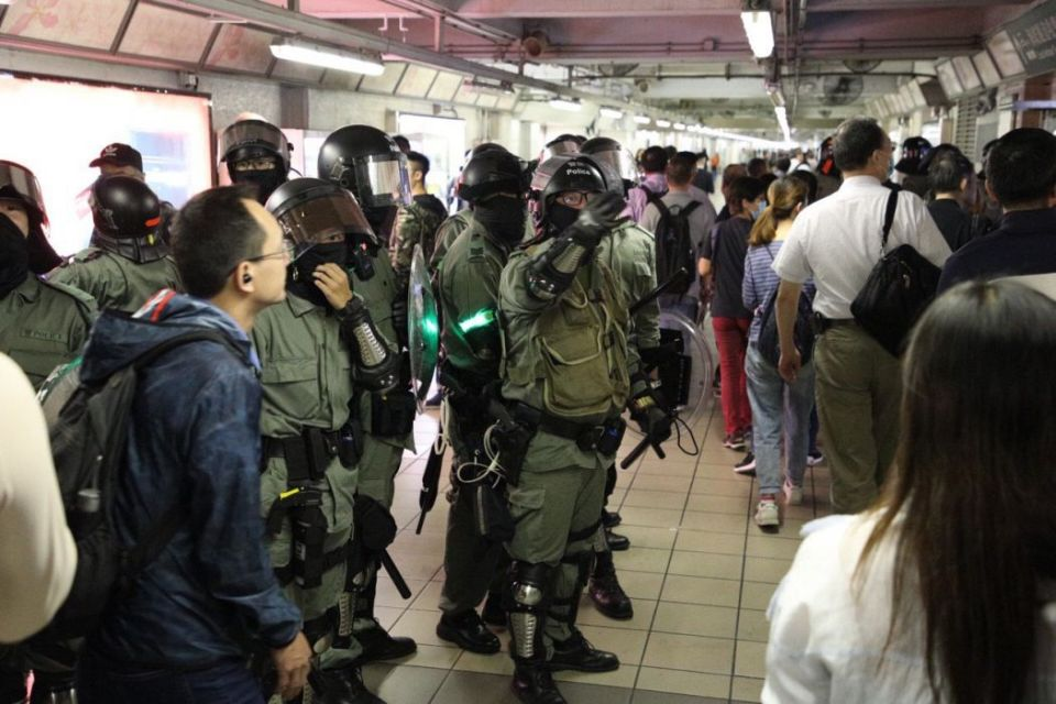 """""""November 11"""" MTR travel transport disruption"""