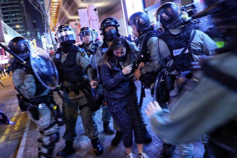 arrest mong kok police december 25