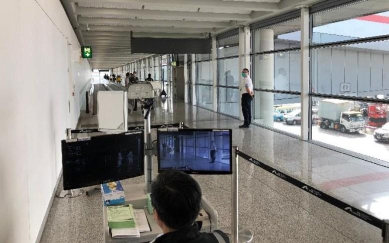 hong kong airport temperature