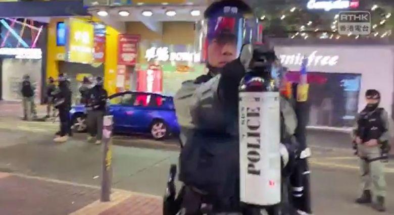 riot police Mong Kok