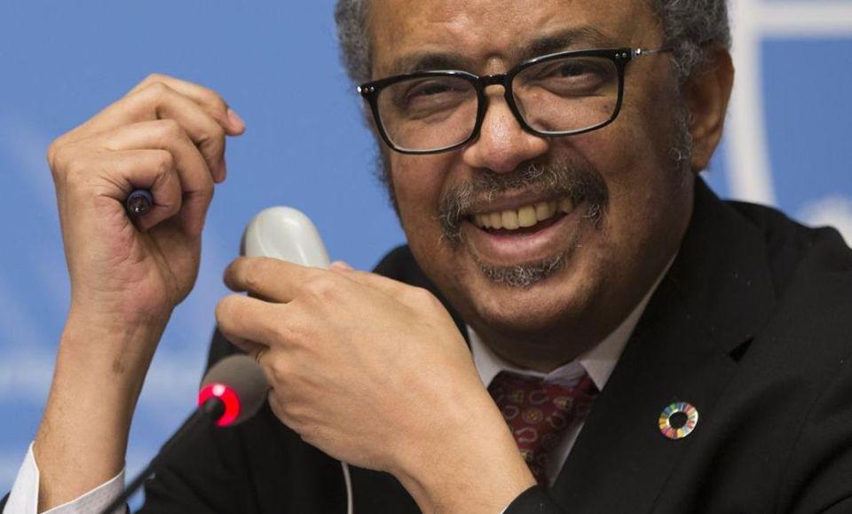 World Health Organization Director-General Tedros Adhanom