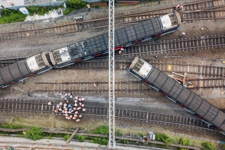 Hung Hom train derailment September 17