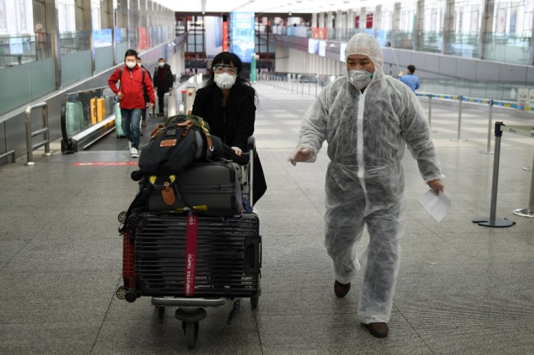 China coronavirus Beijing Capital Airport COVID-19