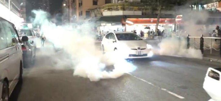 tear gas tear gas yuen long march 21