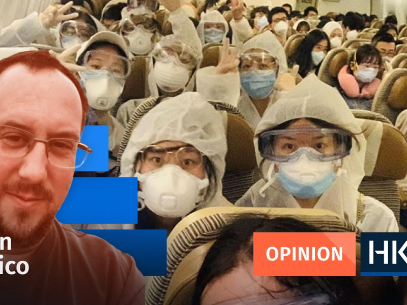 The controversy around Yuen and Lung's Mingpao coronavirus commentary: suppressing doctors' warnings is never the answer kevin carrico