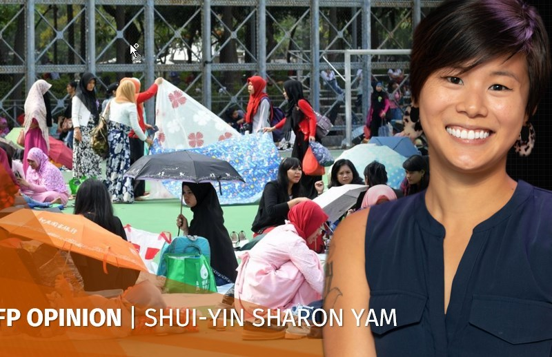Shui-yin Sharon Yam domestic workers