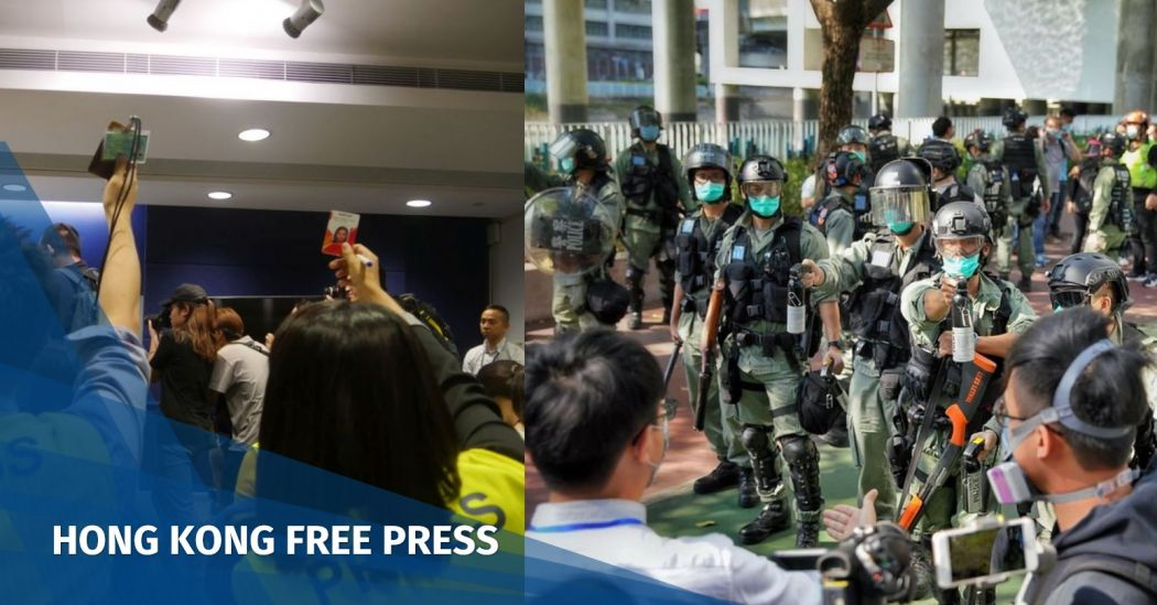 press freedom police obstruction reporting