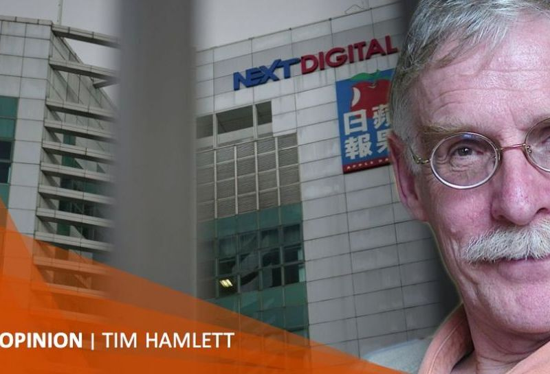 Tim Hamlett Jimmy Lai Next media arrest