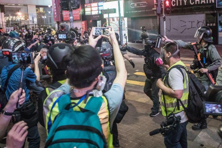 media press freedom police journalist journalism