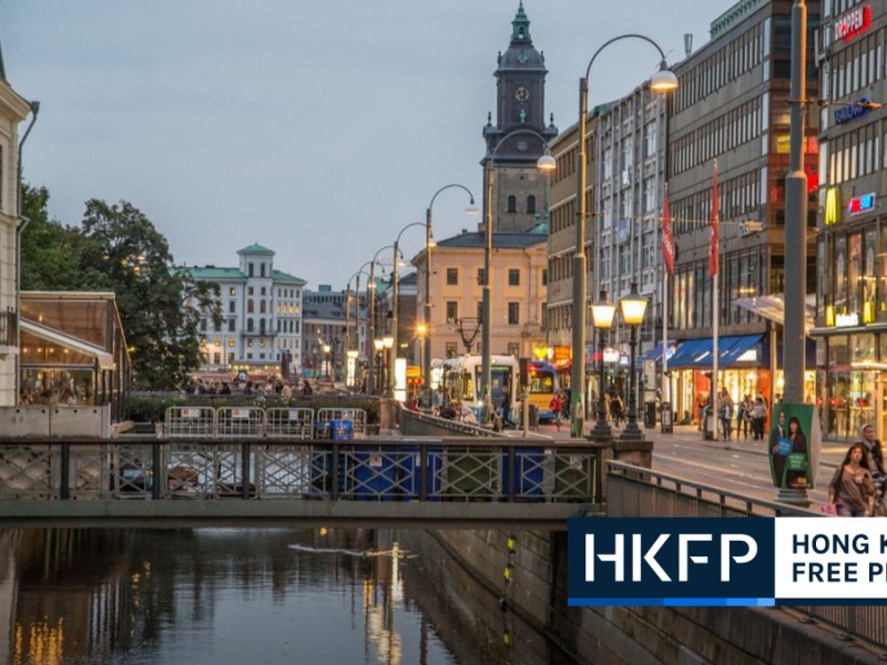 Sweden major city ended twin-city relations with Shanghai amid strained diplomatic relationship